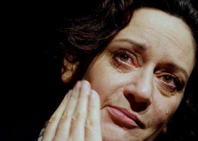 Mam - A devastated Mam at the Theatre Development Centre, Cork  Credit: C.P. Kelleher.